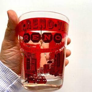Vintage Reno Tahoe  glass